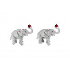 opstrijkbare olifant applicatie 2 stuks