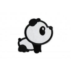 opstrijkbare pandabeer patch