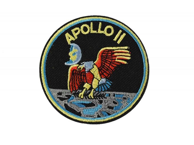 opstrijkbare patch apollo 11