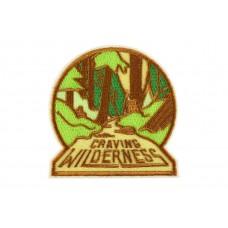 opstrijkbare patch craving wilderness