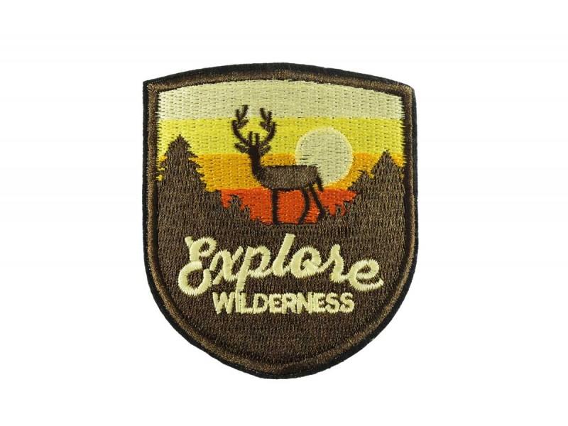 opstrijkbare patch explore wilderness