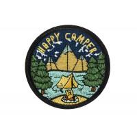opstrijkbare patch happy camper
