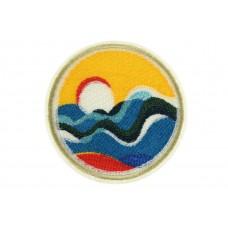 opstrijkbare patch zee zicht golven