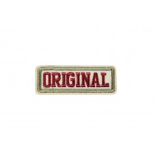original embleem rood beige