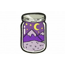 Outdoor patch cookie jar