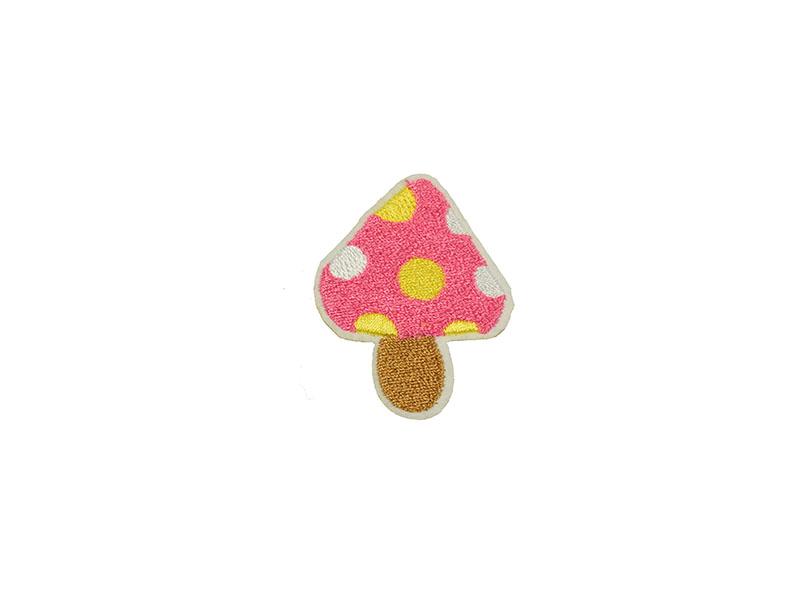 paddenstoel applicatie roze