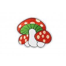 paddenstoel met stippen applicatie