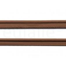 paspelband katoen 15 mm bruin