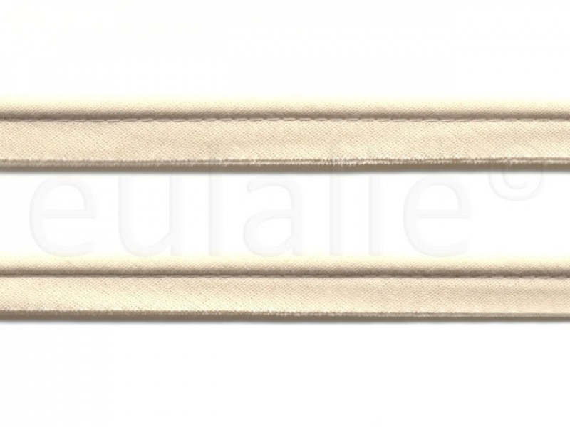 paspelband katoen 15 mm ecru