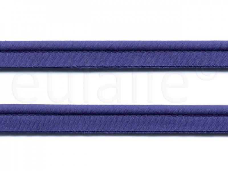 paspelband katoen 15 mm kobaltblauw