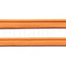 paspelband katoen 15 mm oranje