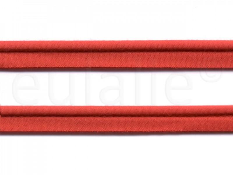 paspelband katoen 15 mm rood