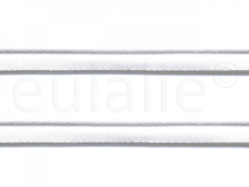 paspelband katoen 15 mm wit