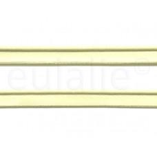 paspelband katoen 15 mm zachtgeel