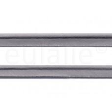 paspelband katoen 15mm grijs