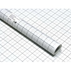patroonpapier ruit (rol 15 meter) in beschermende doos