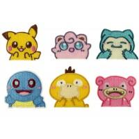 pokemon patch set voor kinderen zelfklevend