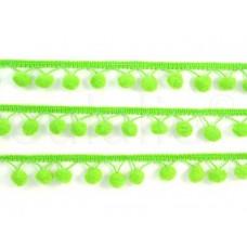 pom-pom band neon groen