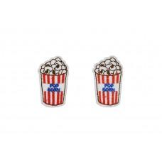 popcorn applicatie opstrijkbaar 2 stuks