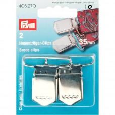 Prym bretelclips 35mm zilver 2 stuks
