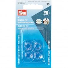 Prym naaimachine spoeltjes kunststof 21,2mm 4 stuks