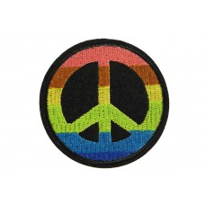 Rainbow peace patch