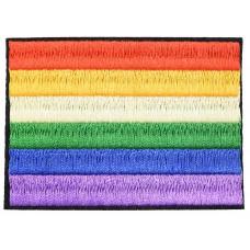 regenboog vlag opstrijkbaar