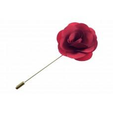 revers pin bloem corsage rood
