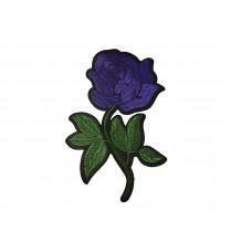 roos patch paars groen