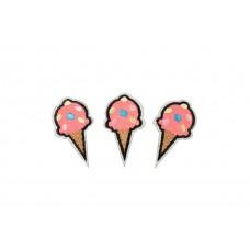 roze ijsje patch set zelfklevend 3 stuks