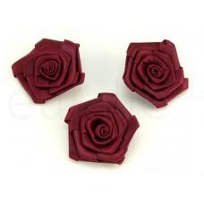 rozen groot bordeaux (3 stuks)