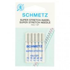 Schmetz super stretch naalden nr. 75 en 90