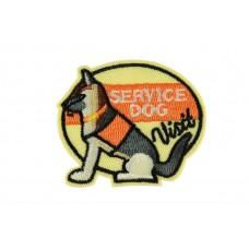 service dog embleem zelfklevend
