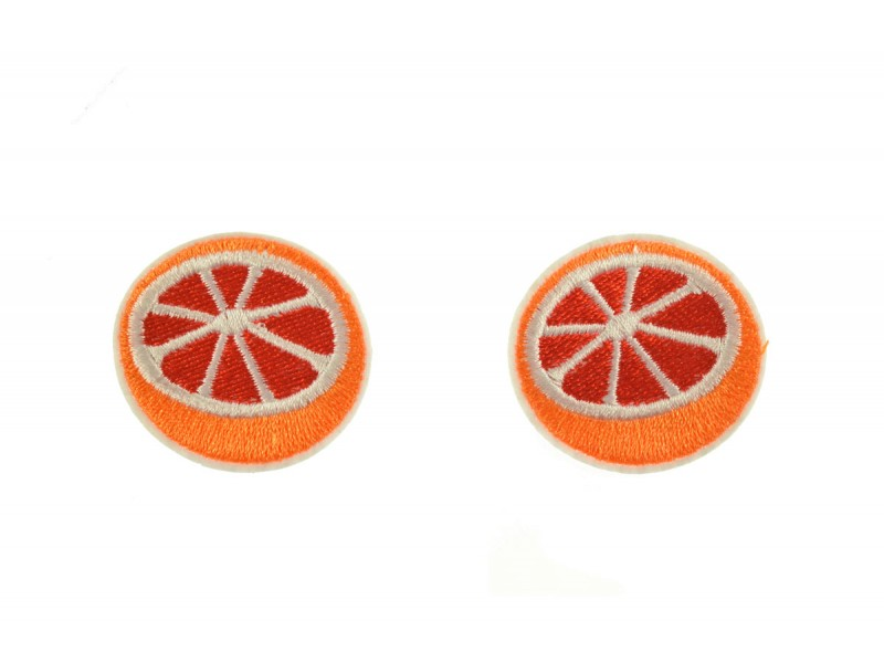 sinaasappel patch set 2 stuks