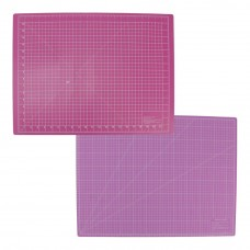 snijmat voor rolmessen roze 45 x 60cm