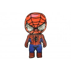 spiderman applicatie met pailletten XXL