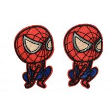 spiderman patch set