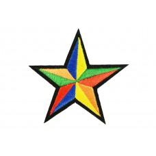 ster patch diverse kleuren