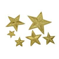 sterren applicatie set goud