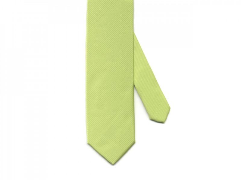 stropdas lime groen
