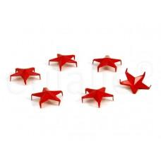 studs stervormig rood 15 mm (30 stuks)