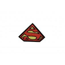 superman embleem rood zwart