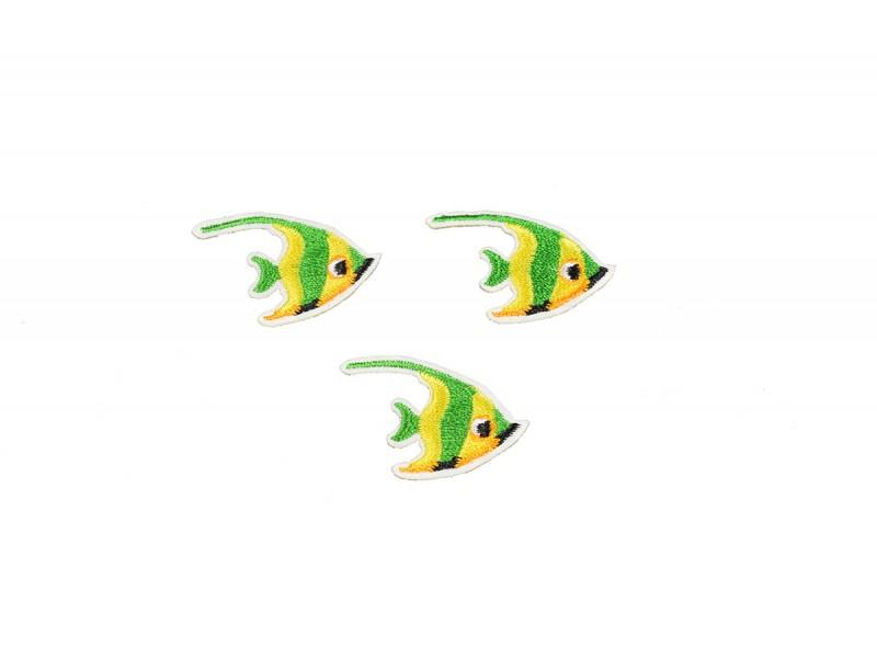 tropische vis patch 3 stuks