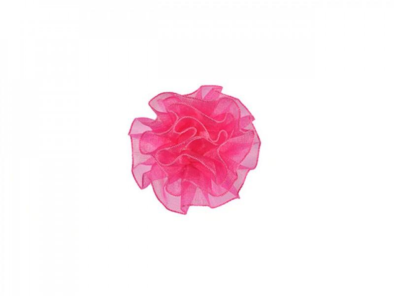 tule corsage roze middelgroot