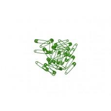veiligheidspelden 2 cm groen (25 stuks)