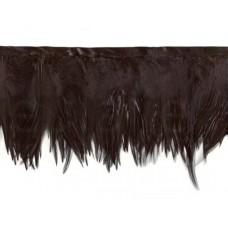 veren franje zwart 5 meter