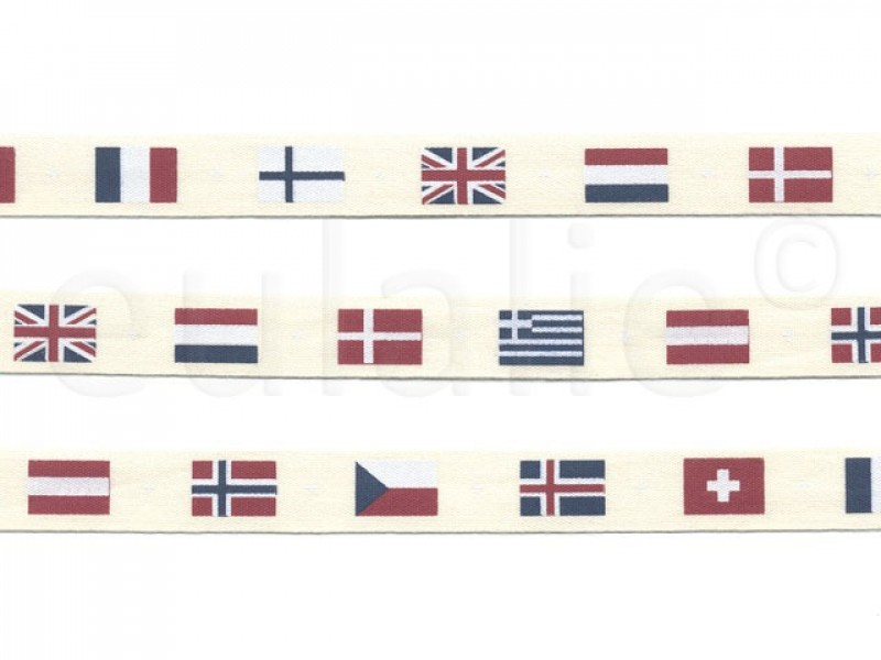 vintage lint vlaggen