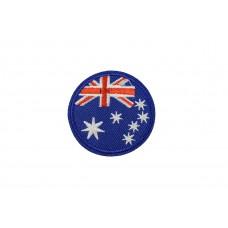 vlag Australie rond 5 cm