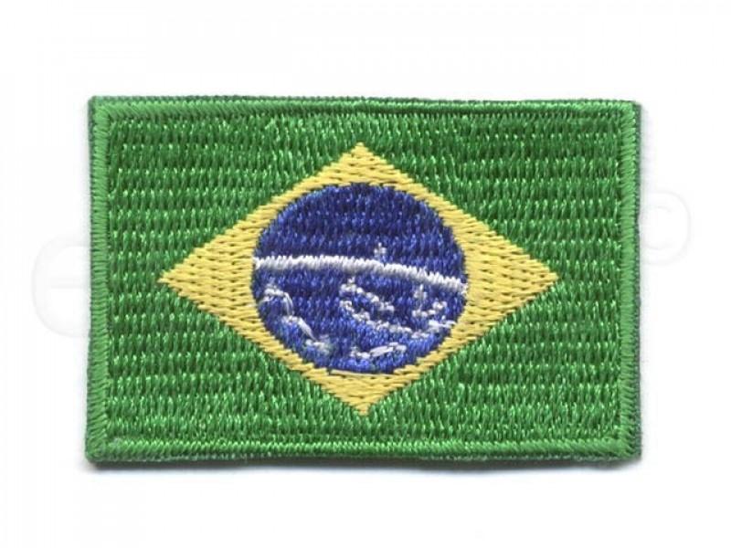 applicatie vlag brazilie klein