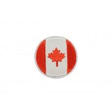 vlag Canada rond 5 cm